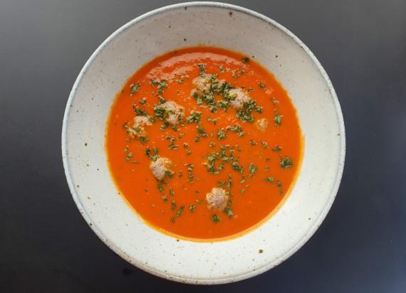 Tomatensoep met balletjes (0.5l)